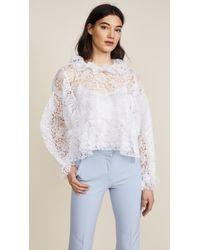Jourden | White Lace Blouse | Lyst