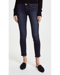 PAIGE - Transcend Verdugo Ankle Skinny Jeans - Lyst