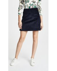 A.P.C. - Wright Skirt - Lyst