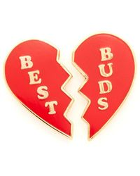 Georgia Perry - Best Buds Lapel Pin - Lyst