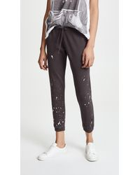 Chaser | Fleece Relaxed Lounge Pants | Lyst