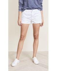 J Brand - Low Rise Shorts - Lyst