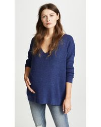 HATCH - The Easy V Neck Sweater - Lyst