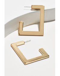 Luv Aj - Boxy Hoop Earrings - Lyst