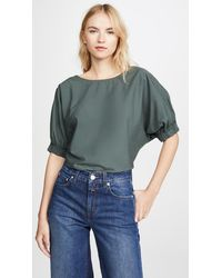 Closed Astrid Top - Green