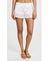 OndadeMar - Cover Up Shorts - Lyst
