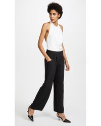 Baja East | Halter Neck Jumpsuit | Lyst