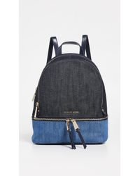 472dd1714bc0 MICHAEL Michael Kors Bristol Medium Backpack in Black - Lyst