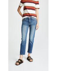 FRAME - Le Nouveau Straight Jeans - Lyst