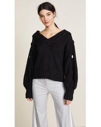 Hellessy - Open V Neck With Slit Sleeves - Lyst