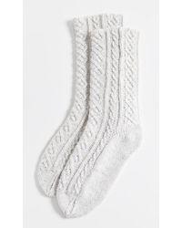 Free People - Lodge Cosy Socks - Lyst