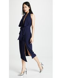 Misha Collection - Lorena Crepe Dress - Lyst