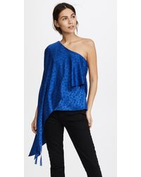 Hellessy - Xenia Off Shoulder Cape Top - Lyst