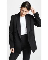 Pallas - Cerbere Double Breasted Tuxedo Jacket - Lyst
