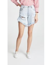 One Teaspoon - Frankie Shorts - Lyst