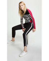 Rag & Bone - Simone Trousers With Stripe - Lyst