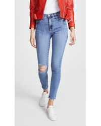 Nobody Denim - The Cult High Rise Ankle Skinny Jeans - Lyst
