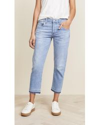 Citizens of Humanity - Emerson Crop Jeans - Lyst