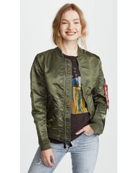 Alpha Industries - Laced Bomber Jacket - Lyst