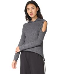 Wilt - Thermal Hooded Pullover - Lyst