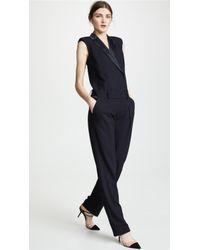 Victoria, Victoria Beckham - Sleeveless Jumpsuit - Lyst
