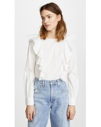 Sincerely Jules - Colette Ruffle Top - Lyst