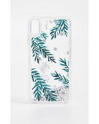 Kate Spade - Holly Liquid Glitter Iphone Xs Max Case - Lyst