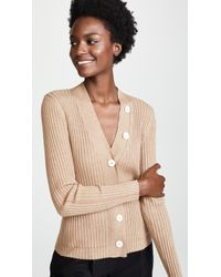 Edition10 - Ribbed Cardigan - Lyst