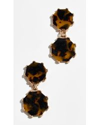 Shashi - Cassie Drop Earrings - Lyst