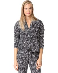 Les Girls, Les Boys - Pyjama Top - Lyst