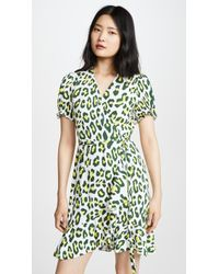 97a3c44f00a7 Misha Collection Emilia Leopard Dress - Lyst