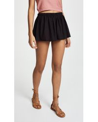 Riller & Fount - Cher Gathered Shorts - Lyst