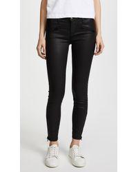 Current/Elliott - The Soho Zip Stiletto Jeans - Lyst