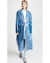 Rains - Ltd. Long Overcoat - Lyst