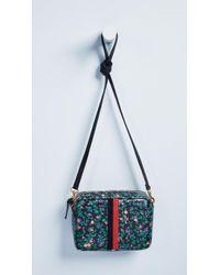 Clare V. - Ditsy Floral Desert Stripe Bag - Lyst