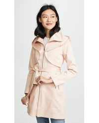 SOIA & KYO - Arabella Trench Coat - Lyst