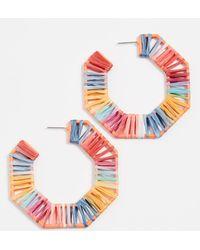 BaubleBar - Reinette Hoop Earrings - Lyst