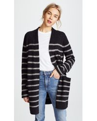 Jenni Kayne - Stripe Yak Sweater Coat - Lyst