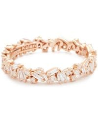 Suzanne Kalan - Fireworks 18k Gold Eternity Band Ring - Lyst