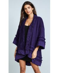 Honeydew Intimates | Hold Me Tight Reversible Wrap Cardigan | Lyst