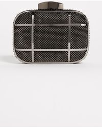 Whiting & Davis - Cage Minaudiere Clutch - Lyst