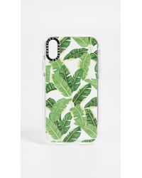 Casetify - Jungle Leaves Iphone Xr Case - Lyst