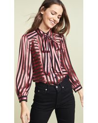 Alice + Olivia - Willis Button Down Shirt - Lyst