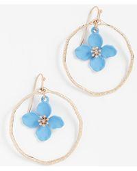 Shashi - Irene Hoop Earrings - Lyst