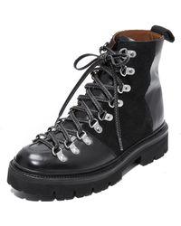 Grenson - Nanette Combat Boots - Lyst
