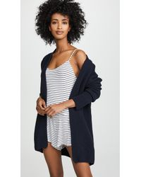 Eberjey - The Plane Cardigan - Lyst