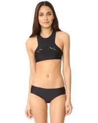 Mikoh Swimwear - Bangkok High Neck Bikini Top - Lyst