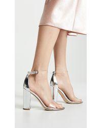 2d7f1097d152 Lyst - Sam Edelman Ardella Low Heel Sandals Putty in Natural