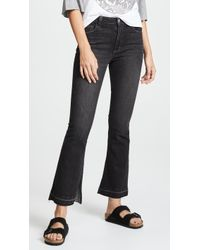 Siwy - Vicky High Rise Flare Jeans With Slit - Lyst