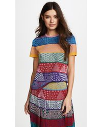 Mary Katrantzou - Pedro Knit Sparkle Top - Lyst
